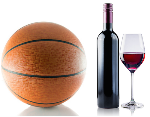 March Madness with a sip of wine or beer